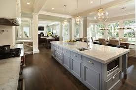Long Kitchen Islands Transitional kitchen Murphy & Co Design