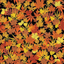 Fall Leaf Pattern Classy Abstract Autumn Background Creative Leaf Fall Orange Yellow Red