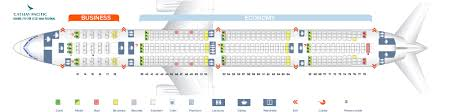 seat map boeing 777 300 new regional cathay pacific