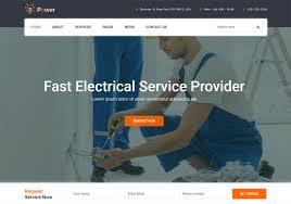 Career Page Design Templates Html 18 Best Electrician Website Templates Html Wordpress