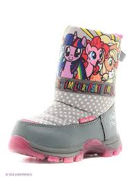 Дутики <b>My Little Pony</b> 3324551 в интернет-магазине Wildberries.ru