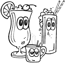 Small Picture Food And Drink Coloring Pages For Kids Preschool Learning Online