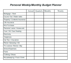 Easy Monthly Budget Simple Budget Worksheet Excel Simple Budget Worksheet Excel Weekly