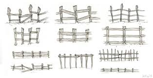 farm fence drawing. And Now Some Fence Studies For The Tiny Sheep Farm. I Like More Stick Farm Drawing Jellydraws - Tumblr