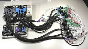 harness tester and cable tester from cami research Airline Wire Harness harness example 2 testing a large harness using adapter cables aircraft wire harness manufacturers