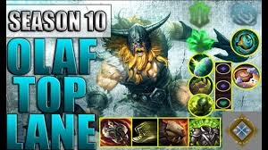League of Legends Gameplay - Olaf Top ...