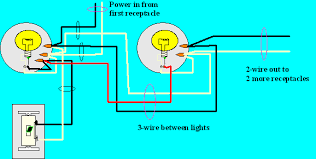 how to wire multiple light fixtures one switch diagram images two lights one switch diagram 3 way multiple