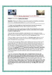 english teaching worksheets war of the worlds english worksheets essay notes for comparing contrasting the war of the worlds novel and