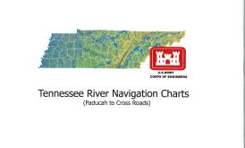 Tennessee River Navigation Charts Tennessee River Navigation Charts Paducah To Cross