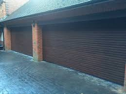 as part of this garage makeover we were also able to supply the customer with some building works that included knocking a doorway through between two