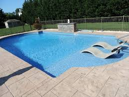 Rectangular Pool Designs With Spa Gallery Inground Pools Toms