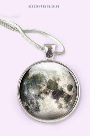 full moon necklace full moon pendant