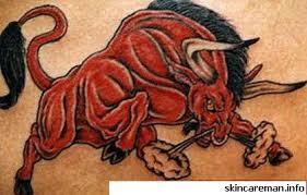 17 Nejlepší Bull Tetování Vzory A Jejich Významy Krása A Móda 2019