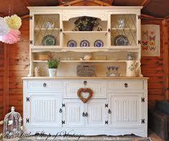 Shabby Chic Kitchen Furniture Stunning Antique Welsh Dresser Solid Oak Jaycee Shabby Chic Black