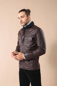 35 free wessi brown cachet quilted leather coat jacket