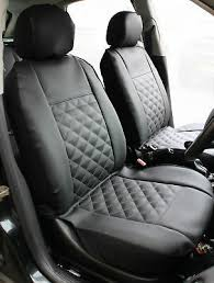 leather look mayfair black front car