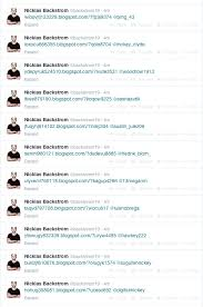 Spam Account Nicklas Backstroms Compromised Twitter Account Backstrom19
