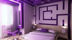 Small Picture Fresh And Simple Purple Wall Paint Ideas Placement Homes