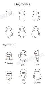 Baymax 2 Little Baymax Emoji From At 基质的菊长大人 ディズニーの描き