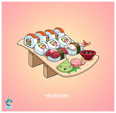 cute sushi wallpaper.  Cute Kawaii Images Sushi Wallpaper And Background Photos For Cute Wallpaper S