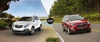 2016 Buick Encore vs 2016 Chevy Equinox