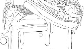 Con Di Scarpe Disegno Da Colorare Disegni Ginnastica Nike Rboewdqcx