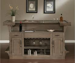 white home bar furniture. The Glacier Finish Gives It A Contemporary Rustic Look That Would Great In Rooms With White Home Bar Furniture M