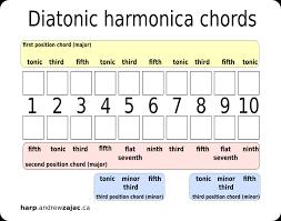 Second Position Harmonica Chart Custom Harmonicas By Andrew Zajac Custom Diatonic