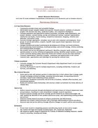 Market Research Analyst Resume Cover Letter Market Analyst Resume