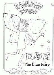Small Picture Rainbow magic coloring pages to download and print for free