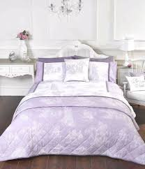 camargue french toile duvet set pillow cases duvet cover bedding set lilac blue