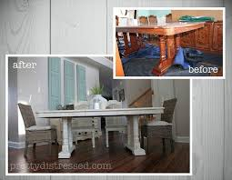 painted dining room furnitureGrandmas Table Gets a Makeover  Hometalk