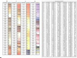 Dmc Color Chart 2018 Printable 25 Comprehensive Cosmo Floss Color Chart