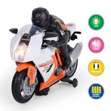 Motorcycle Toddler Toy Car for 2 3 4 5 Year Old Boys Girls Birthday Gift , Toys