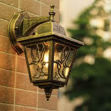 Outside Patio Lights Led Us 22 37 31 Off Led Garden Wall Light Outdoor Lighting Wall Lamps Outside Patio Bronze Exterior Sconces E27 Bulb Yard Street Waterproof Lamp In Led