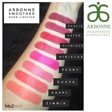 Arbonne Blush Color Chart Arbonne Smoothed Over Lipsticks Swatches In 2019 Lipstick
