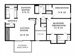 14 3 bedroom cool three floor plan 10