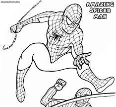 Small Picture Amazing Spider Man coloring pages Coloring pages to download and