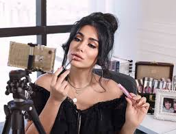 huda kattan has close to 26 million insram followers and says her brand has never paid money for advertising