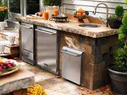 Small Outdoor Kitchen Small Outdoor Kitchen Home Design And Decorating