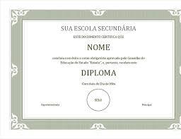 Moldura Para Word Baixar Certificado De Diploma