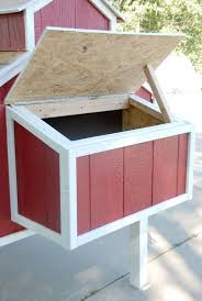 pallet en nesting box free plans for an awesome en coop the home depot