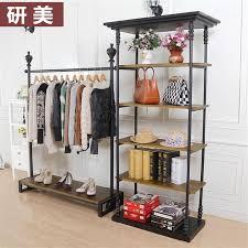 ing clothes rack hanger floor display rack clothing decoration laswear showcase showcase shelves