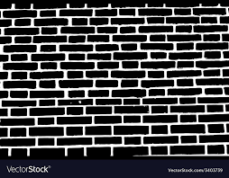 black brick wall texture background old