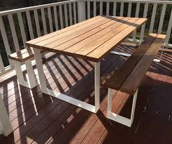 outdoor table. Timber Outdoor Tables Table