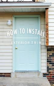 garage door trim sealDecorative Door Trim Exterior  Home Design Ideas and Pictures