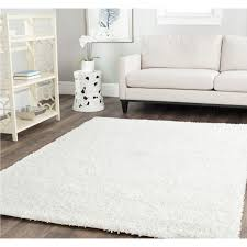 white rug big fluffy rugs off white rug