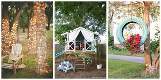 diy backyard design ideas diy backyard decor tips yard ideas for summer outdoor tree decorations for