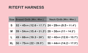 Details About Puppia Ritefit Air Mesh Soft Harness Adjustable Dog Puppy Genuine