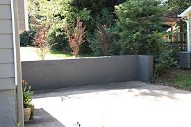 amazing painting exterior concrete foundation walls on within repair and paint a block wall southern hospitality